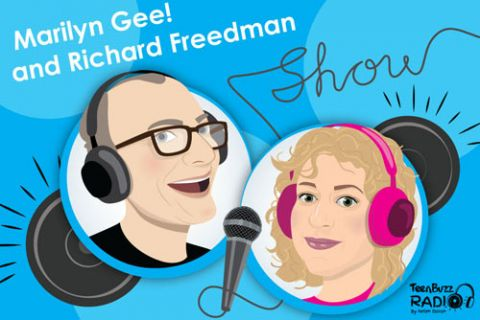 Programme: Marilyn Gee! and Richard Freedman show