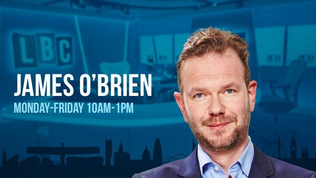 LBC  James O'Brien - podcast at 2019-08-30 10:00