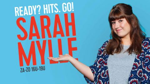 Programme: Ready? Hits. Go! Met Sarah.